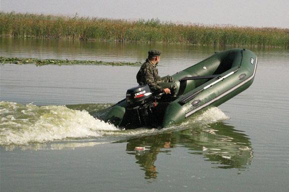 Моторная надувная лодка Барк